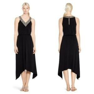 *New White House Black Market Black Dress XS